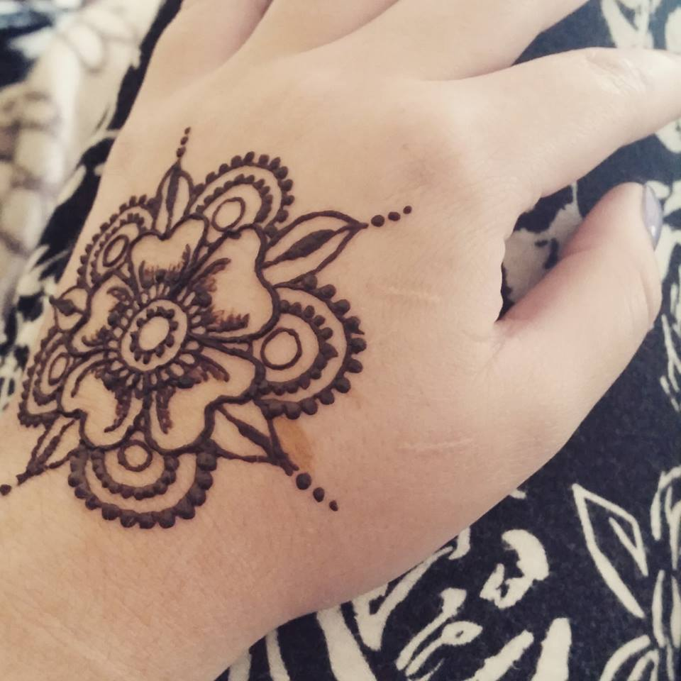 Henna designs from individual appointments liz ruth henna lotus flower henna izmirmasajfo Image collections